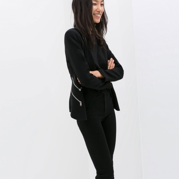 from blazer faux drapes brands fpx the leather product jacket shop s kloth draped kut women